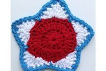 Independence Day, 4th of July Holiday Crochet Patterns / A collection of Independence Day/4th of July crochet patterns from Maggie's Crochet, along with some of our favorite recipes and other great crafts!  These patterns are also great for Veteran's Day and Memorial Day!