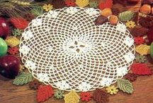 Thanksgiving & Fall Holiday / A collection of Thanksgiving and Fall crochet patterns available at Maggie's Crochet, along with recipes and decorating ideas. / by Maggie's Crochet