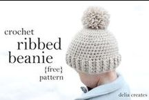 DIY - Crochet / Crochet patterns, and no-sew or easy-sew tutorials