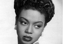"~*Hazel Scott*~ / ""Any woman who has a great deal to offer the world is in trouble. And if she's a black woman, she's in deep trouble"". Hazel Scott."