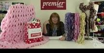 Premier Yarns Videos & Events / A collection of events and videos where Maggie's Crochet has been sponsored by Premier Yarns.