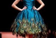 Wedding peacock