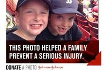 Donate a Photo / For every photo you donate, Johnson & Johnson gives $1 to Safe Kids Worldwide to help prevent childhood injuries. http://www.donateaphoto.com/cause/safe-kids-worldwide-family #donateaphoto #jnj  / by Safe Kids Worldwide