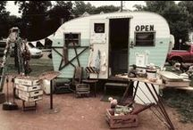 Vintage Campers / Building inspiration for my dream gypsy office...