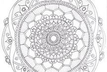 Mandala templates / by Heather Gerni