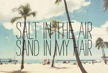 Fun beach girl