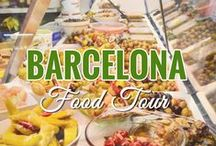 Barcelona: Food Tour / This is a snapshot of the foods we ate on a Devour Barcelona Food Tour in the Grácia neighborhood. Read more about it here: http://goo.gl/D5ZJ4k