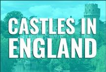 Castles In England / Looking for things to do in #England or where to stay? Check out some of these castles for a taste of history, culture, and fun.