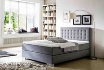 Boxpringbetten / Höchster Liegekomfort, Klassisches Design, optimale Körperanpassung - das alles vereint das Boxpsringbett