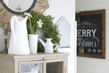 Modern Farmhouse Style / sometimes i just want to dream about farmhouses.