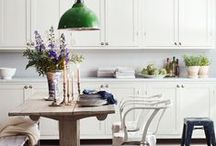 KITCHENS / Kitchens are my absolute favorite. These are some of my favorite inspirations for pretty and functional kitchens. / by The Inspired Room