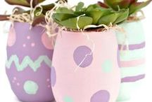 Easter / Be inspired by these Easter craft project ideas for the DIY planner in you. #decoartprojects / by DecoArt Inc.
