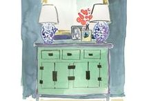 Color Inspiration / paint palettes, pops of color and color inspiration / by The Inspired Room
