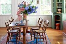 Dining room ideas / Inspiration and decorating ideas for dining spaces.