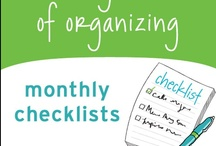 ORGANIZING 2 / by Cindy Fisher