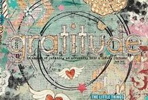 Papercrafts / Altered art, mixed media, Tim Holtz, Dyan Reaveley, Dina Wakely and more! I love having all these cool inspirational ideas in one place!