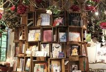Books! Libraries/themes/home decor / An eclectic mix of bookish themes
