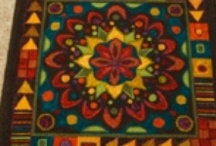 hooked rugs / by Vicki Paxson Monroe