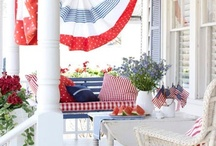Patriotic Decorating / by Tara Jacobsen - Marketing Speaker & Author