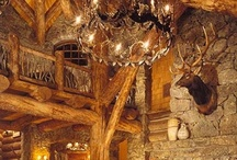 Log Cabin & Shabby Chic / by Tara Jacobsen - Marketing Speaker & Author