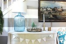 Christmas decorating and ideas / by The Inspired Room (Melissa)