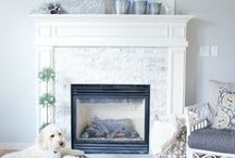 Fireplaces / by The Inspired Room