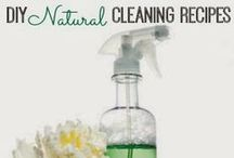 Cleaning Tips & Declutter Inspiration / Homemade cleaning recipes, household tips, and declutter inspiration.