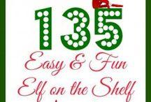 Christmas-Elf on a shelf