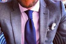 Men's Fashion / Because who can say no to a dapper man in a suit?