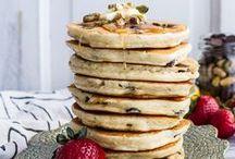 Pancake toppings! / All our favourite pancake toppings... yum yum yum!