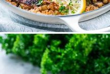 Dinner / Easy healthy dinner recipes to help you get dinner on the table even on the busiest of days!