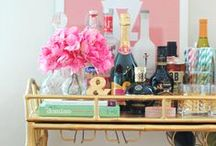 Bar & Bar Cart / by Lacey Dreyer