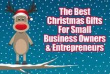 Best Christmas Gifts For Entrepeneurs / The best Christmas Presents and Gifts for Entrepreneurs and Small Business owners. There is a mix of technology gifts, training, coaching and other things that will help entrepreneurs become super successful in the new year! Make sure to send your husband over here if he needs a good idea!!  / by Tara Jacobsen - Marketing Speaker & Mentor