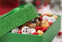 The Holidays Just Got Sweeter / Bring good tidings this Christmas with red and green personalized Holiday Candies from M&M'S® with a seasonal message, faces and festive clip-art. / by MY M&M'S