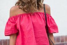 Off the shoulder / Fashion top dress robe épaules dénudées