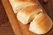 Recipes - bread and  rolls  / by Rowena Gransaull Gibbons