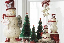 Christmas: Snow & Snowmen / Wishing it was snowing at Christmas in Australia / by Jenni Christmas