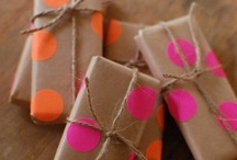 DIY GIFT WRAPPING/PACKAGING
