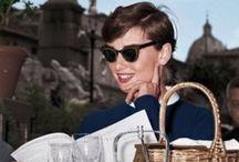 Audrey Hepburn  / An insecure ingénue...