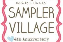 Homemade Goodies & Sampler Village