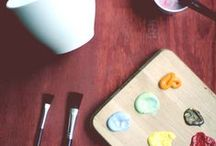 Get Your DIY On! / DIY ideas that (one day) I will attempt...hopefully / by Kym VdS