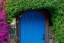 doors   /dôrs/ / by Jackie Butler