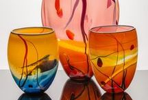 Glass Art Collections / A collection of glass artwork hand-blown at Seattle Glassblowing Studio.
