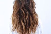 Hair / Ideas for when I need to get out of bed and comb my hair.