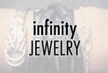 Infinity Jewelry  / Nothing says 'Forever' like Infinity Jewelry. Eve's Addiction has you covered with Infinity Rings, Infinity Necklaces, Infinity Earrings and Infinity Bracelets! / by Eve's Addiction