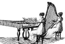Harp ❤ Sketch/ Illustration / by Allyson Chong