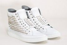 Giacomorelli F/W2012-13 / Studs, leathers and fabrics are essential characteristics of Giacomorelli's design. Authenticity, exclusivity and quality are features of this purely handmade shoe. Decorations are fully handmade to keep their original beauty. / by Vrients