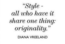 My Style / Timeless Style and elegance