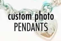 Custom Photo Pendants / Now you can get your favorite picture engraved on a beautiful piece of jewelry! Only at EvesAddiction.com! / by Eve's Addiction
