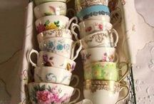 Tea Party / Because who doesn't love vintage teacups and a good teapot?